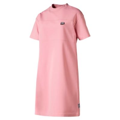 PUMA-女性流行系列Downtown連身裙-新娘玫瑰-歐規