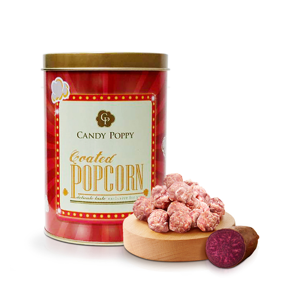Candypoppy 裹糖爆米花-紫心甜薯(110g)