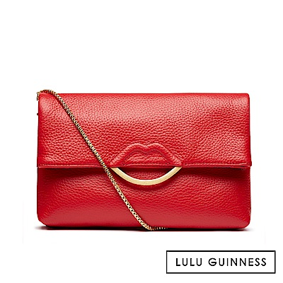 LULU GUINNESS ISSY 手拿/側背包 (紅)