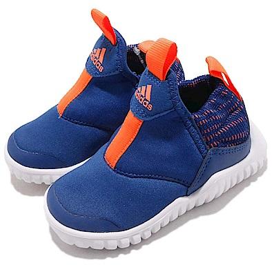 adidas 慢跑鞋 RapidaZen I 襪套 運動 童鞋