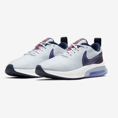 NIKE 慢跑鞋 氣墊 緩震 訓練 健身 運動鞋 大童 女鞋 藍 CK0715-006 Air Zoom Arcadia (GS)