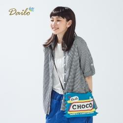 【Dailo】泡泡布修身休閒襯衫(一色)