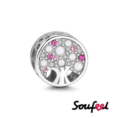 SOUFEEL索菲爾 925純銀珠飾  夏 生命樹 串珠