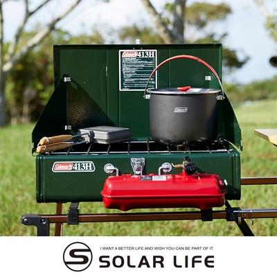 Coleman 413氣化雙口爐/CM-0391J.露營雙口爐 摺疊汽化爐 高山快速爐 適用去漬油 戶外野炊爐具