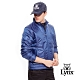 【Lynx Golf】男款日本進口布料口袋造型鋪棉長袖外套-藍色 product thumbnail 2