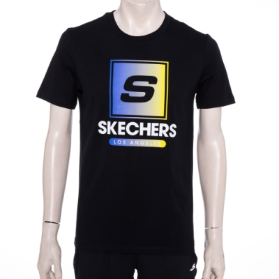 SKECHERS 男短袖衣 - L220M001-0018