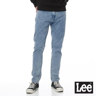 Lee 牛仔褲 705 中腰標準舒適小直筒 男 中淺藍 100%棉