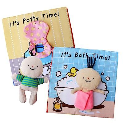 JJOVCE布書嬰兒玩具上廁所洗澡故事書