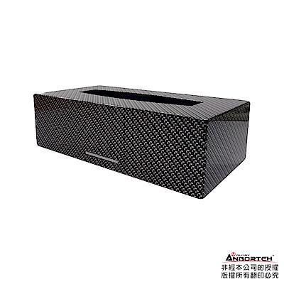 【安伯特】日式磁吸面紙盒(任選-時尚卡夢/日式核紋)專利超強吸鐵