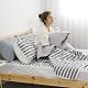 Adorar 平單式針織親水涼感墊+涼枕墊二件組-單人(灰) product thumbnail 1