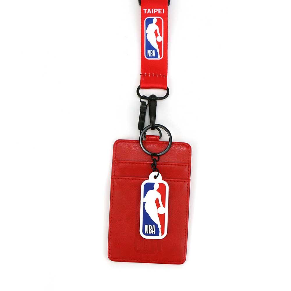 NBA 識別證套 紅色TAIPEI