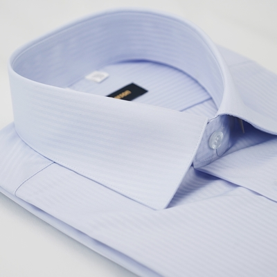 【金安德森】淡紫色吸排窄版長袖襯衫fast