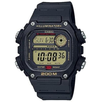 CASIO卡西歐 粗曠運動風格電子錶(DW-291H-9A)