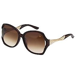 SWAROVSKI 水鑽 太陽眼鏡(琥珀色)SW9065