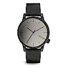 KOMONO Winston Mirror 腕錶-性格黑x消光黑/41mm