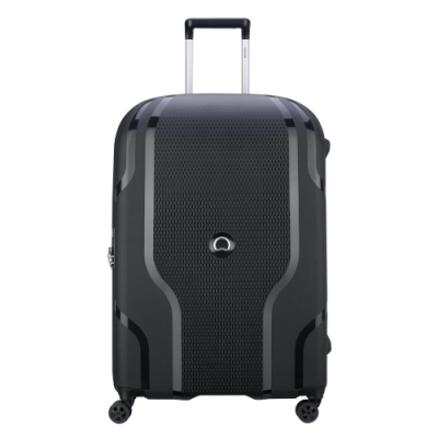 【DELSEY】CLAVEL-28吋旅行箱-黑色 00384582100