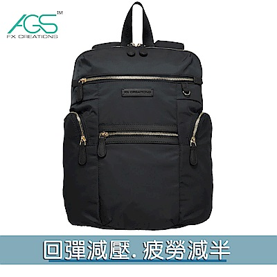 JSB-13吋AGS回彈減壓電腦背包-黑 JSB69847A-01