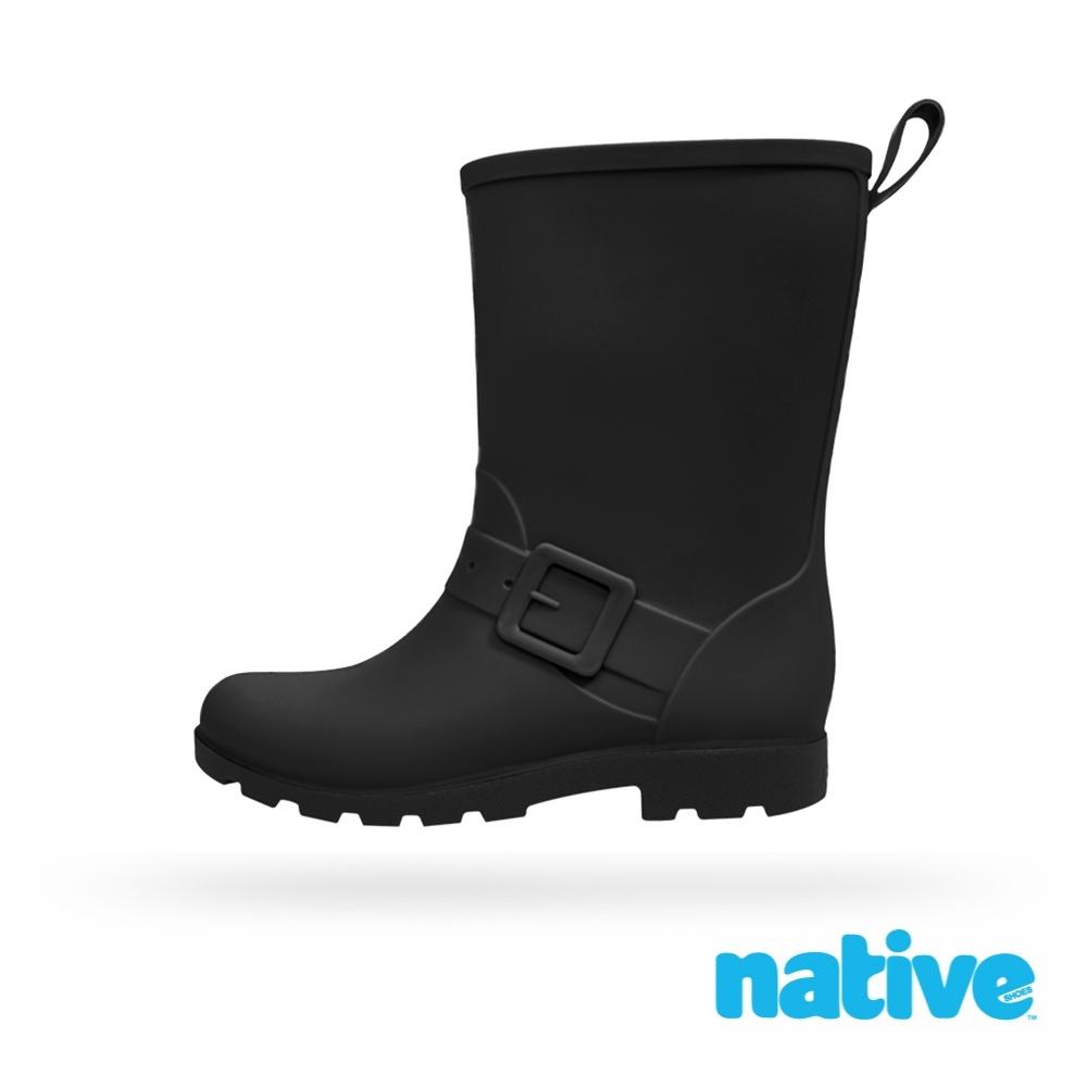 native 小童鞋 BARNETT 小巴尼特雨靴-時尚黑
