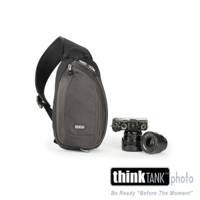 ThinkTank-TurnStyle 5 單肩/ 腰包兩用相機背包 (灰黑)-TS456