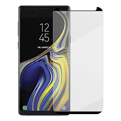 Metal-Slim SAMSUNG Galaxy Note 9 3D滿版曲面玻...