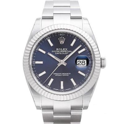 ROLEX 勞力士 Datejust 126334 日誌型板帶機械腕錶藍x41mm