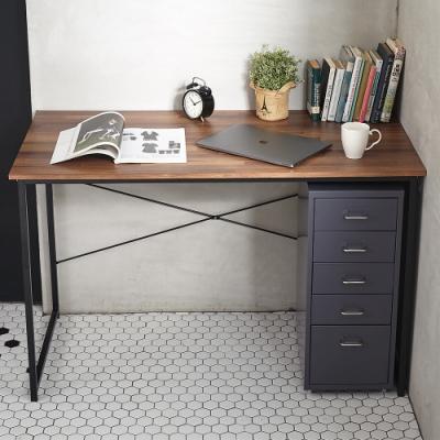 【開學季最超值組合B】優選120cm大桌面工作桌+專業腰托電腦椅會議椅