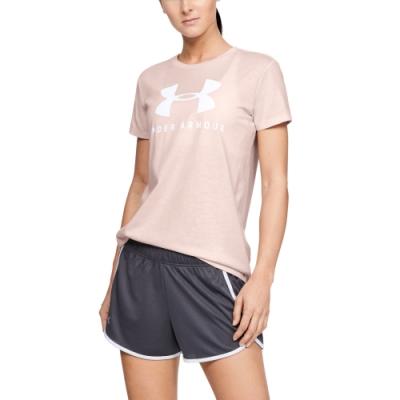 UNDER ARMOUR女 短T-Shirt