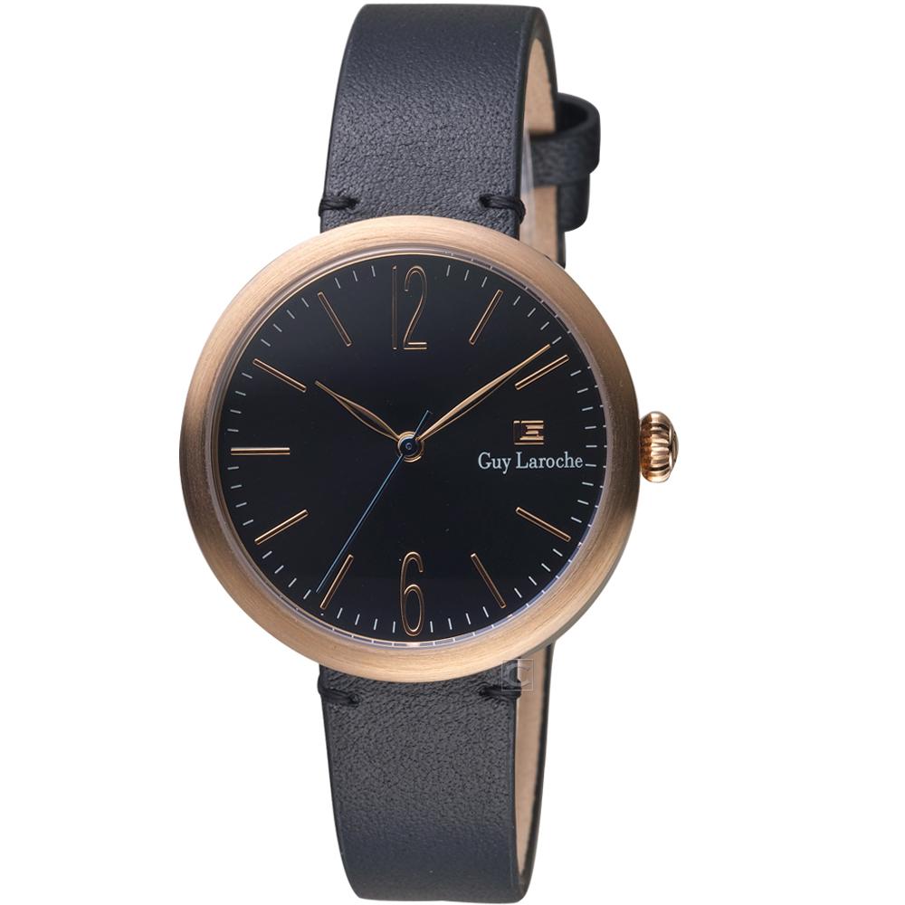 姬龍雪Guy Laroche Timepieces現代簡約時尚女錶(LW5054-16)
