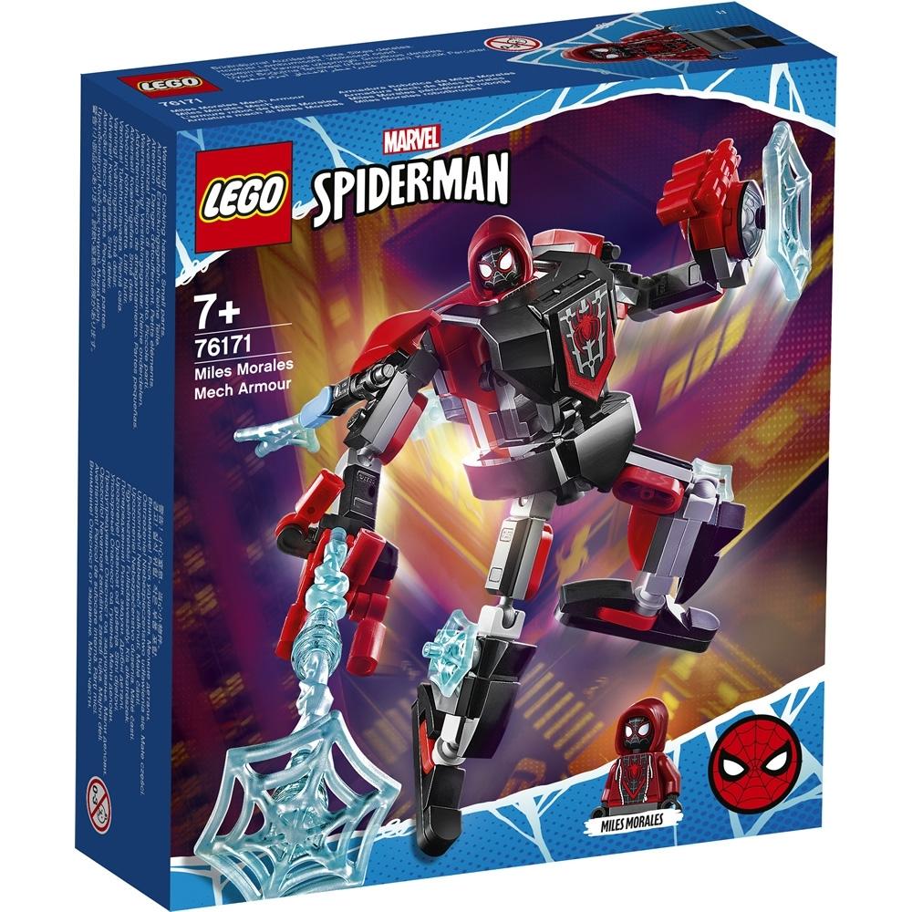 樂高LEGO 超級英雄系列 - LT76171 麥爾斯莫拉雷斯機甲
