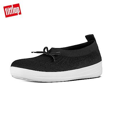 FitFlop UBERKNIT SLIP-ON BALLERINA-黑色