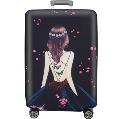 新一代 紅粉佳人行李箱保護套(21-24吋行李箱適用)