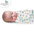 美國 Summer Infant 聰明懶人育兒包巾-叢林童話