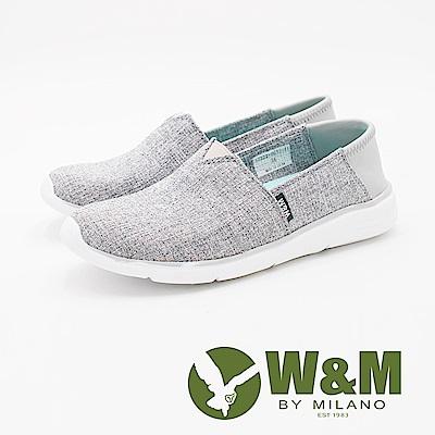 W&M 2Way防磨腳懶人休閒 女鞋-淺灰