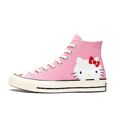 CONVERSE-HELLO KITTY女休閒鞋-粉紅
