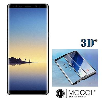 Mocoll - 3D 9H 鋼化玻璃膜 - 三星 Note 8 專用 ( 黑色...