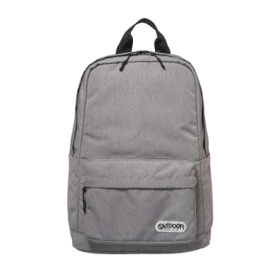 【OUTDOOR】極簡生活3.0-15.6吋筆電後背包-灰色丹寧 OD281100GYD