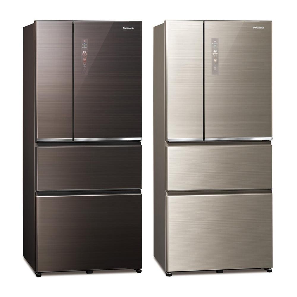 Panasonic國際牌 610公升 無邊框玻璃系列變頻四門電冰箱 NR-D611XGS