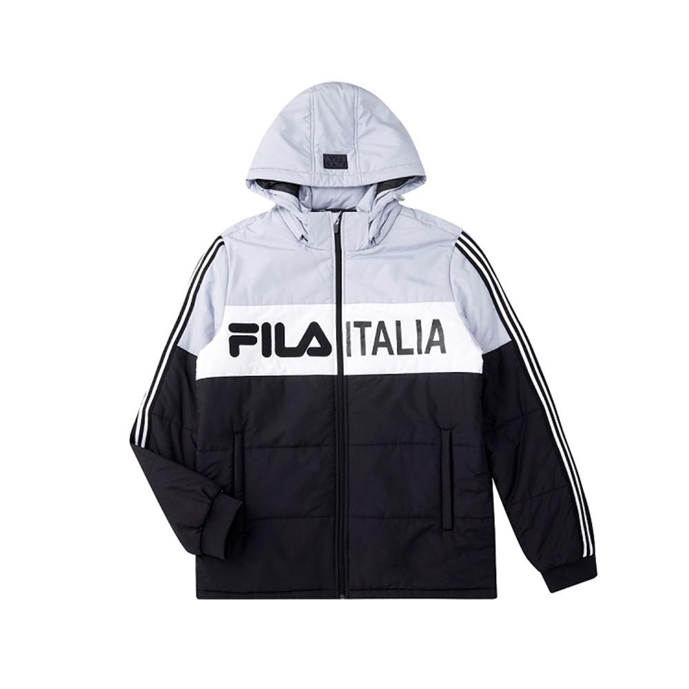 FILA 男鋪棉外套-黑色 1JKU-5488-BK