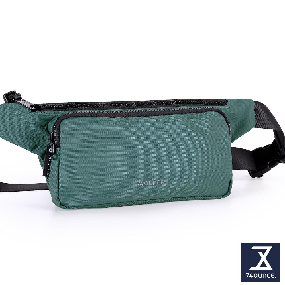 74盎司 Further 旅行腰胸包[TG-230]孔藍