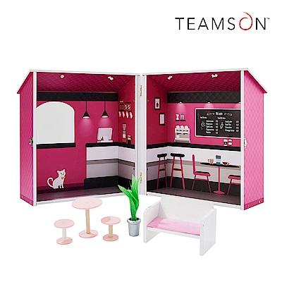 Teamson 旅行巴黎時尚咖啡娃娃屋