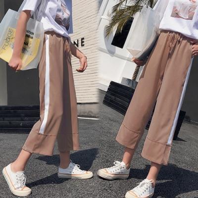 【韓國K.W.】(預購)年度精選英倫簡約長款寬褲-3色