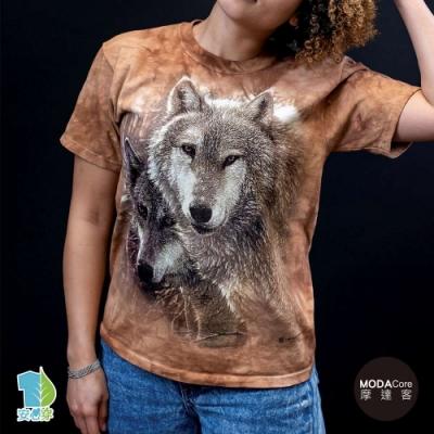 摩達客-美國進口The Mountain 森林狼王子 純棉環保藝術中性短袖T恤