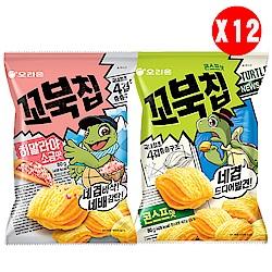 好麗友 烏龜玉米脆片箱購(80gx12