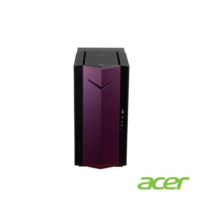 Acer N50-610-SE 十代i7八核獨顯電競桌上型電腦(i7-10700/GTX1650/16G/2T/512G/Win10h)