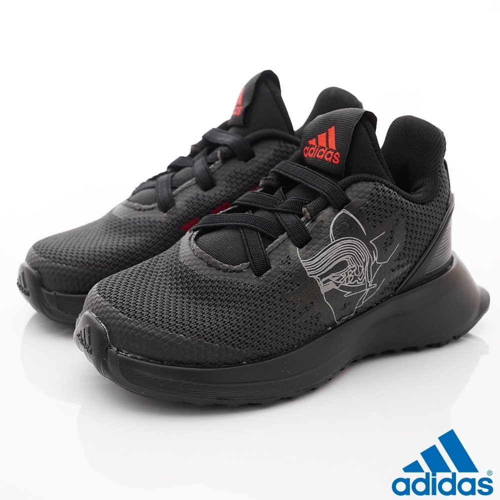 adidas童鞋 STAR WARS聯名學步鞋 TW7544黑(寶寶段)