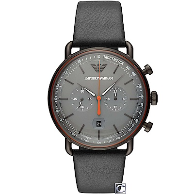 Armani 亞曼尼 Aviator 飛行員計時腕錶(AR11168)
