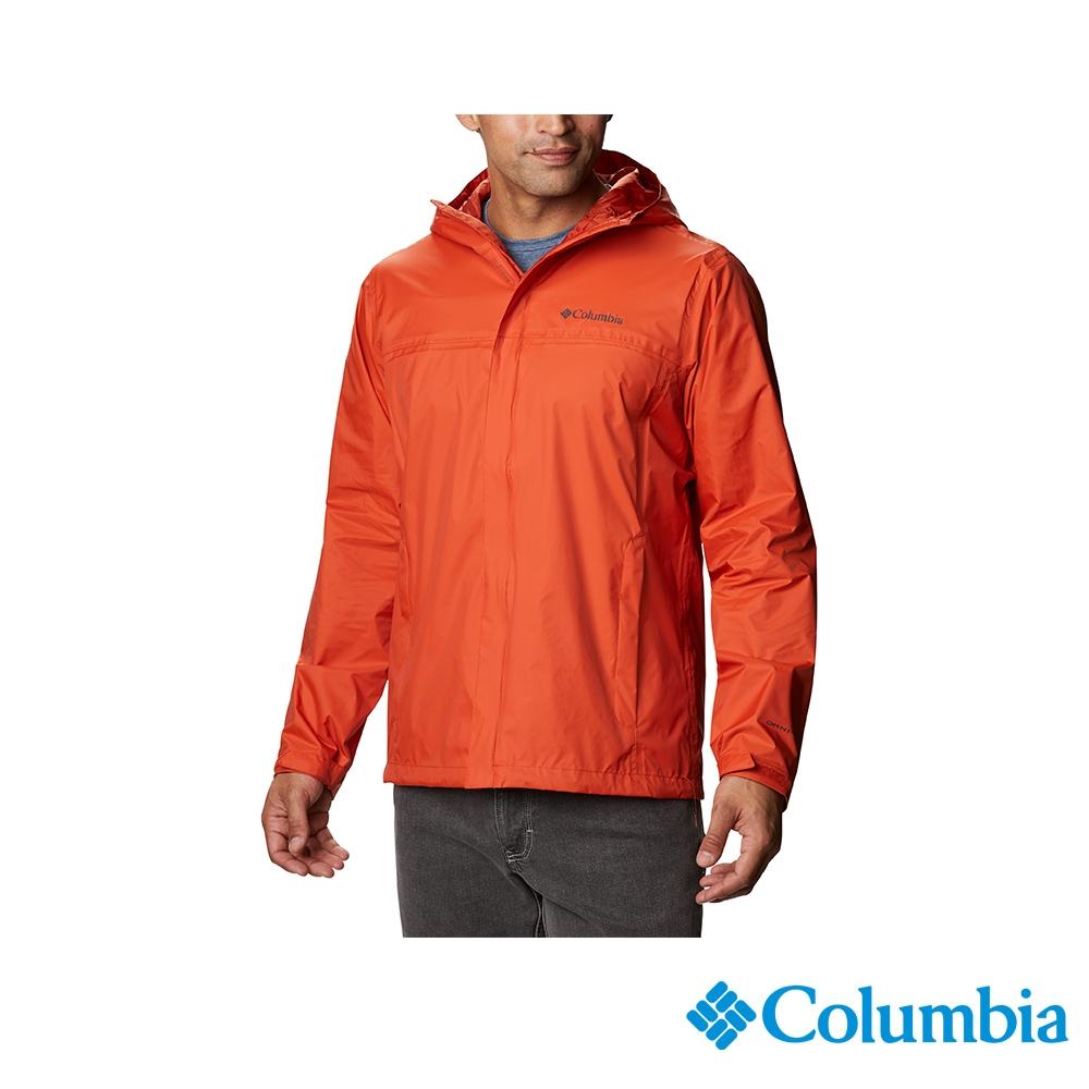 Columbia 哥倫比亞 男款- Omni-TECH 防水外套 - 2色 URR24360 (男款-紅色)