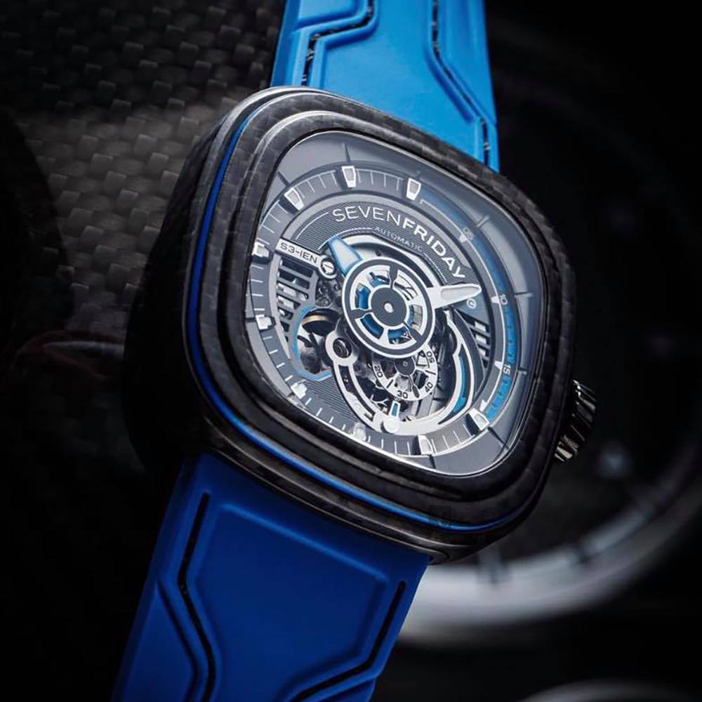 SEVENFRIDAY S3-02 碳纖維錶殼 全球限量版機械錶-47mm