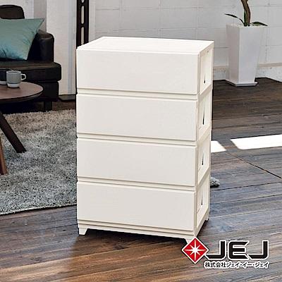 日本JEJ DECONY 系列 寬版組合抽屜櫃 4層