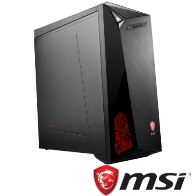 MSI微星 Infinite 9SA-1022TW 九代i7八核雙碟獨顯電競桌上型電腦(i7-9700F/GTX 1650S/8G/1T/256G/W10h)
